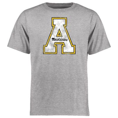 Appalachian State Mountaineers Big & Tall Classic Primary T-Shirt - Ash