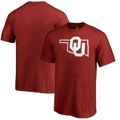 Oklahoma Sooners Youth Tradition State T-Shirt - Crimson