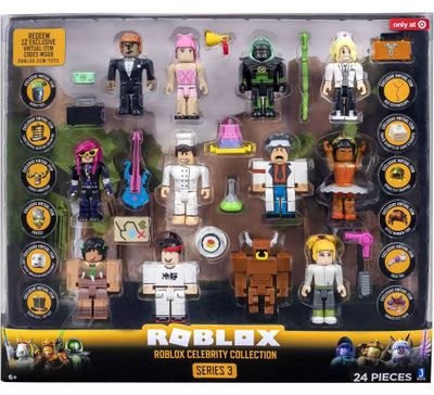 Roblox Series 3 Celebrity Collection Action Figure 12-Pack