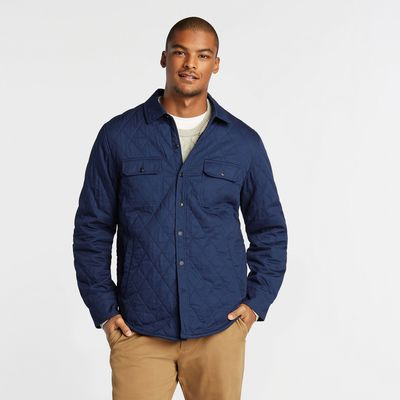 Nautica Sherpa-lined Quilted Overshirt