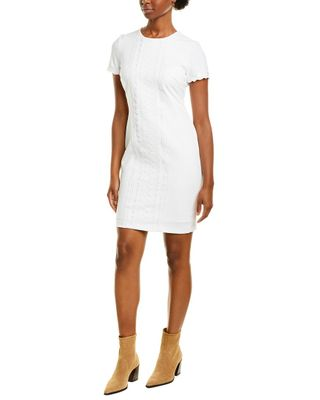KARL LAGERFELD Lace-Trim Sheath Dress