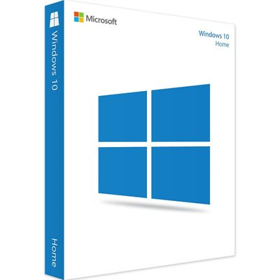 Microsoft Windows 10 Home Operate System USB Drive 32/64-bit Retail Boxed 1 License Product Key Card English Version