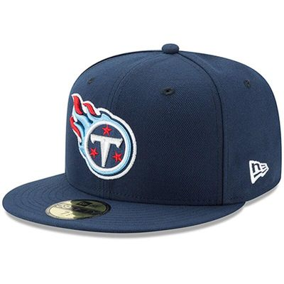 Tennessee Titans New Era Omaha 59FIFTY Hat - Navy
