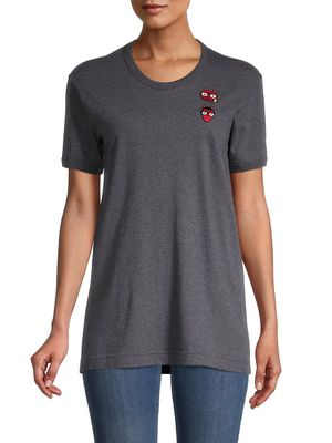 Dolce & Gabbana Patch Embroidery T-Shirt
