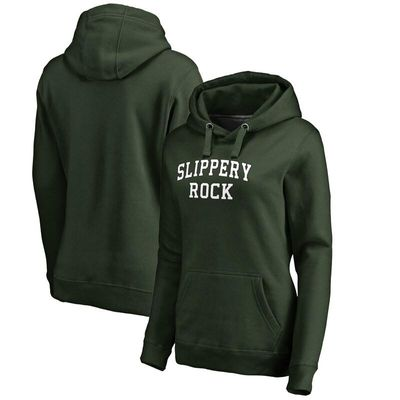Slippery Rock Pride Fanatics Branded Women's Everyday Pullover Hoodie - Green