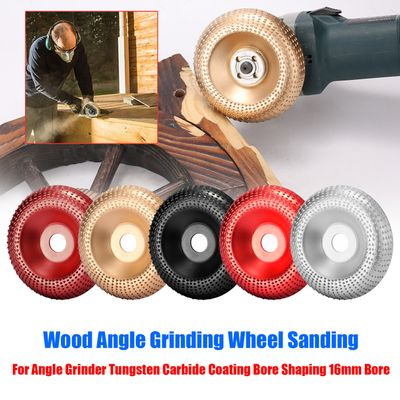 100mm NO.45 Steel Wood Angle Grinding Wheel Sanding Carving Rotary Tool Abrasive Disc for Angle Grinder Sanding Carving Tool