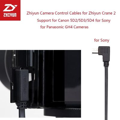 Zhiyun Gimbal Stabilizer Control Cable Micro USB to MULTI USB Cable ZW-MULTI-002 for All Sony Mirrorless Camera Accesorios