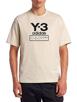 Y-3 Stacked Logo Graphic Tee