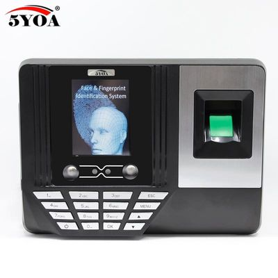 5YOA AF3 Biometric Face Facial Recognition Time Attendance System Machine Device