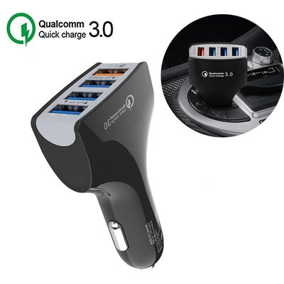 12V USB Car Cigarette Lighter Socket Charging For Phone QC 3.0 Quick Charger Universal Cars Usb Splitter Auto Mobile Charge