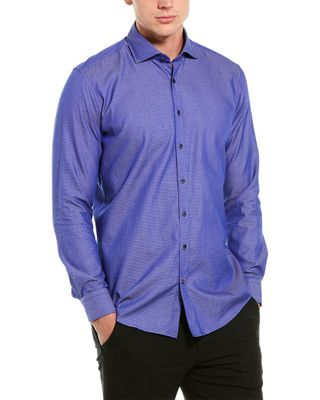 Ron Tomson Tailored Fit Woven Shirt