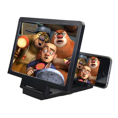 Stereoscopic Amplifying Universal Phone Holder 3D Screen Amplifier Magnifying Glass HD Stand For Anti-radiation Video Holder