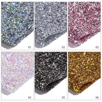 Diamond scrub Nail Mat Salon Practice Cushion Pillow Glitter Foldable Washable Pad Manicure Nail Art Table mats tool