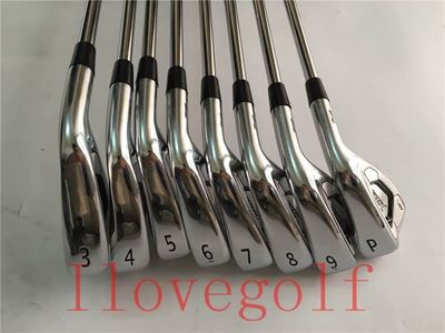 Completely New 8PCS 718 AP3 Golf Irons AP3 718 Golf Clubs Irons Set 3-9P Dynamic Gold Steel Shafts DHL Free Shipping