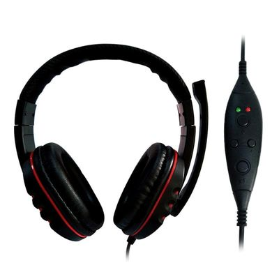 USB Wired Gaming Headset With Mic LED Light Hifi Stereo Deep Bass Headphone Remote Control Earphone For  PS3 PS4  PC Laptop