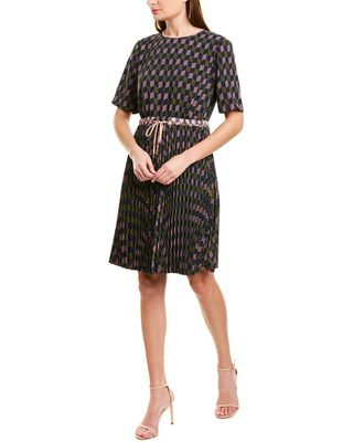 Ted Baker Pleated Shift Dress