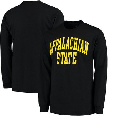 Appalachian State Mountaineers Basic Arch Long Sleeve T-Shirt - Black