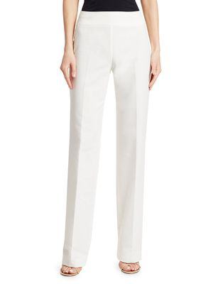 Akris punto Carla Cotton Wide-Leg Pants
