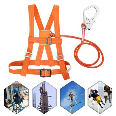 3 Stypes Outdoor Adjustable Climb Harness Safety Belt Rescue Rope Aerial Work Large Buckle