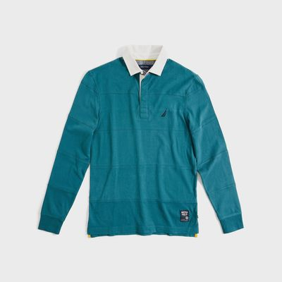 Nautica Big & Tall Classic Fit Long Sleeve Rugby