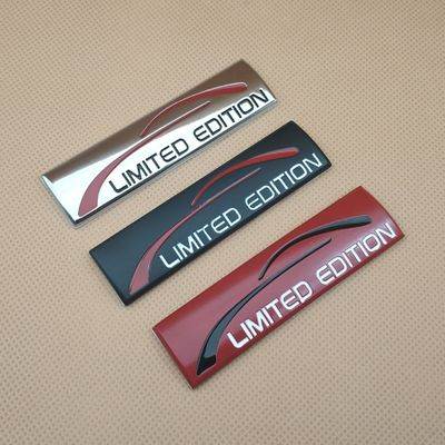 1x 3D Metal Limited Edition Badge Emblem Fender Sticker Auto Accessories Decal