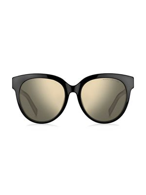 Marc Jacobs Signature Double J 56MM Cat Eye Sunglasses