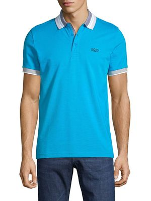 Boss Hugo Boss Logo Slim-Fit Cotton Polo