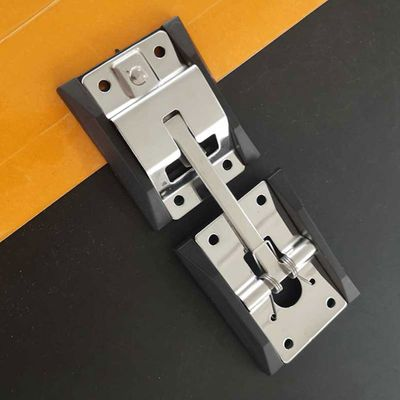 Fixing Truck Door Hook Stainless Steel RV Positioning With Bracket Durable T Shaped Buckle Easy Install Trailer Polished