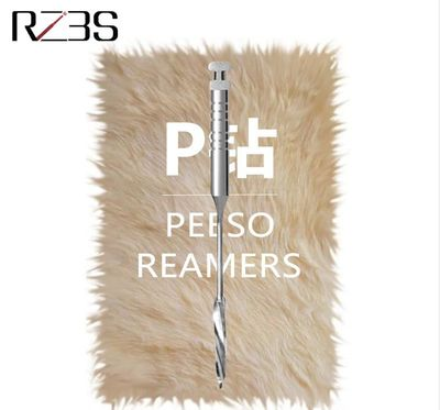 Dental Peeso Reamer 28mm/32mm #1-6 Single Size Stainless Steel Drill For Remove Root Canal Filling And Prepare Post Space