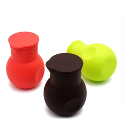 3 Colors Silicone Melted Chocolate Cup Baking Chocolate Pot Baking Tools Baking Accessories Easy-clean Chocolate Melting Pot