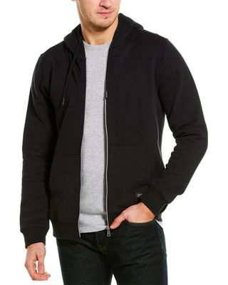 Heritage by Report Collection Brushed Back Fleece Hoodie