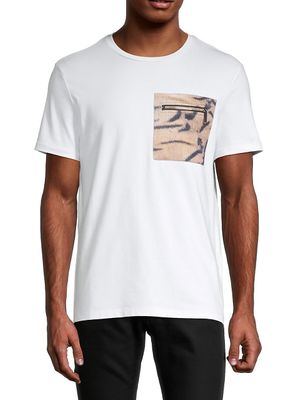 roberto cavalli SPORT Embroidered-Logo Stretch-Cotton Tee
