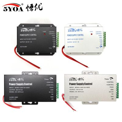 DC 12V Door Access Control system Switch Power Supply 3A 5A AC 110~240V for RFID Fingerprint Access Control Machine Device