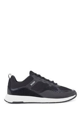 HUGO BOSS - Hybrid Trainers With Suede Overlays