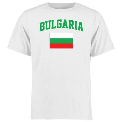 Bulgaria Flag T-Shirt - White