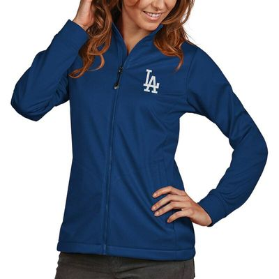 Los Angeles Dodgers Antigua Women's Golf Full-Zip Jacket - Royal