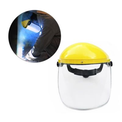 Clear Full Face Shield Safety Visor Mask For Automotive Construction