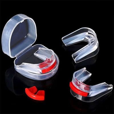 Hot selling Boxing Mouth Guard Silicone Nozzle Teeth Protector for Boxing Martial Art Sport Mouthpiece Protective Gear with box