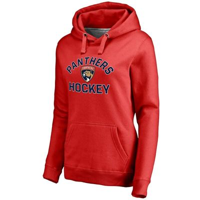 Florida Panthers Women's Overtime Pullover Hoodie - Red