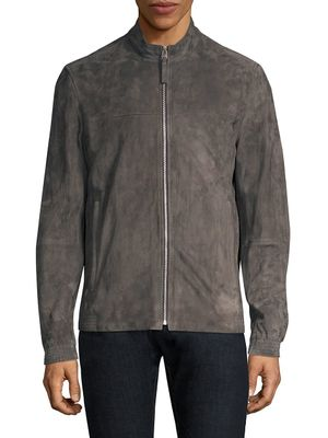 Theory Regular-Fit Radical Tremont Suede Jacket