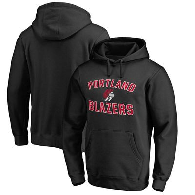 Portland Trail Blazers Big & Tall Victory Arch Pullover Hoodie - Black