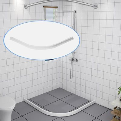 Rubber Silicone Shower Barrier Water Stopper Bathroom Waterproof Strip Water Blocker Dry and Wet Separation Home Improve Tool