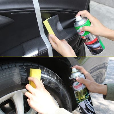 Multifunctional Auto Car Wheels Brush Sponge Cleaner Tools For Tire Hub Waxing Polishing Brush Cleaning Tools Car Accessories