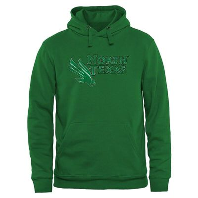 North Texas Mean Green Classic Primary Pullover Hoodie - Green