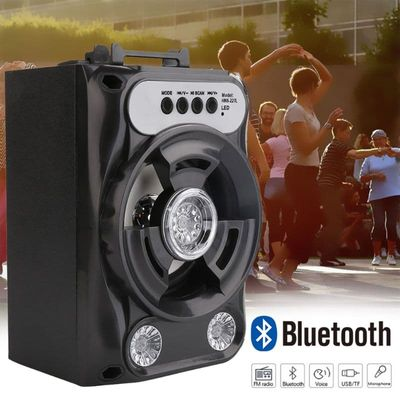 Bluetooth Speaker Wireless Sound System Bass Stereo with LED Light Large Size