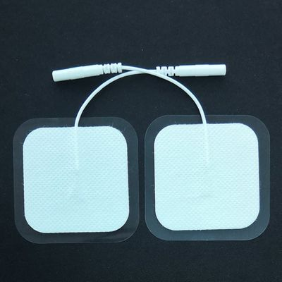 Xc0104 5050 Square Non-woven 2.0mm Jack Electrode Patch Electrode Patch Health Angel Of The Therapeutic Apparatus Digital