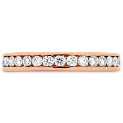 HOF Channel Diamond Band .40-.48ctw