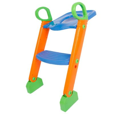 Toilet training Toddle Baby Trainer Seat Step Stool Ladder Toilet Seat Chamber Pots folding Ladder Adjustable Training Chair