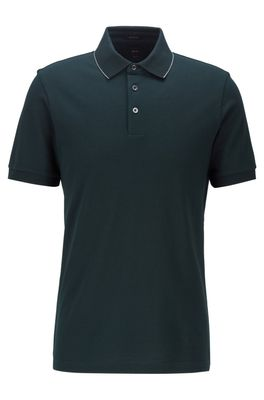 HUGO BOSS - Moulin Polo Shirt With Structured Trims