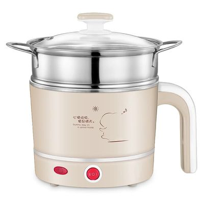 Mini Electric Food Steamers Pans Multifunctional Small Electric Hot Pots Heating Cup 1L for Steamer /Boiled /Cooking